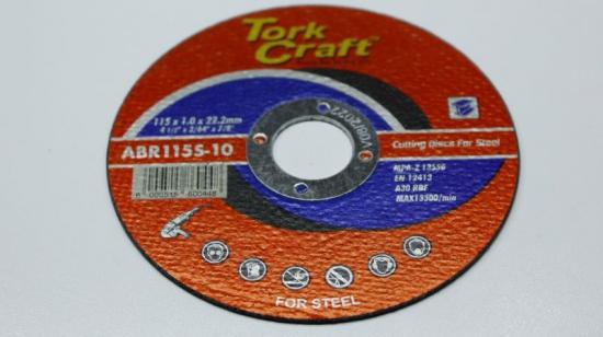T/Craft Steel Cut Disc Industrial 115x1mm