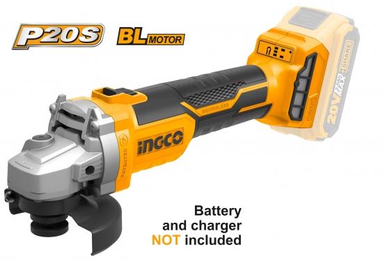 Ingco Angle Grinder Cordless 20v No Battery/Charge