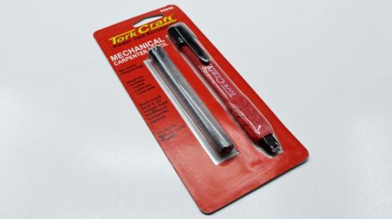 Pencil Carpenter Mechanical Tork Craft