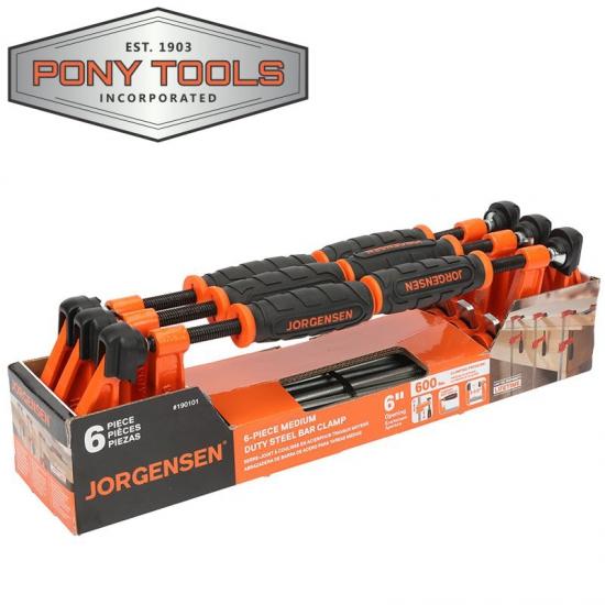 Clamp Bar Steel Jorgensen 6