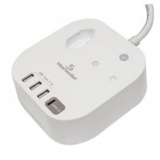 Smartsocket Compact USB Power Hub + PD Tech 3.1A