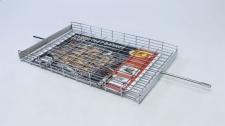 Braai Grid Flat Basket Large 500x305x45mm