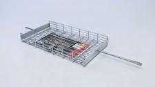 Braai Grid Flat Basket Standard 380x205x45mm