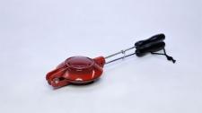 Jaffle Iron Cast Iron Red Enamel