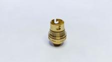 Lampholder Brass 10mm BC