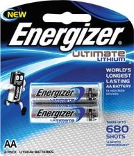 Battery E/Gizer Lith AA 2