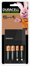 Battery Charger Duracell 45min AAx2 AAAx2