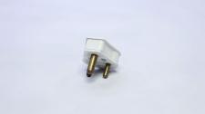 Plugtop 6A Nylon 3 Pin White