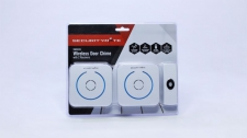 Door Chime Securitymate Soft Touch 2x Receivers