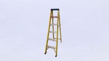 Step Ladder Fibreglass 6 Step 1.5m