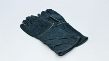 Gloves Welding Green Lined 8