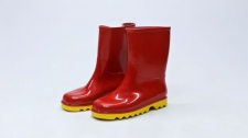 Gumboot Kids Neptune Red & Yellow # 12