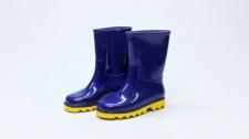Gumboot Kids Neptune Blue & Yellow # 2
