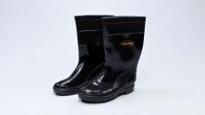 Gumboot Ladies Bata Elegant Black # 3