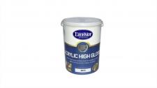 Exl Agrylic High Gloss W/B Enamel White 5l