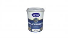 Exc Acrylic High Gloss W/B Enamel Black 5l