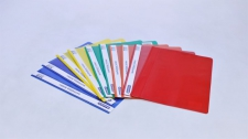 Folder Quotation Assorted Colours 170mic Marlin