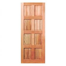 Door Pine 8 Panel Stained
