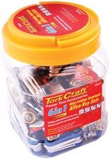 Allen Key Set Tork Craft Mini Fold Hex,Torx,PH Ass