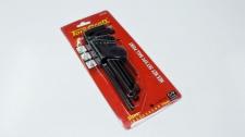 Allen Key Set Tork Craft Metric Ball 1.5-10mm 9pc
