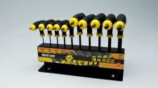Allen Key Set Left Hand 10pc 2-10mm