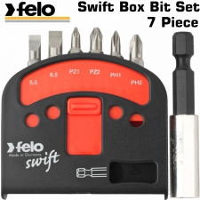 Bit Set Felo 7pc (Swift Box Set) 6xBits 1 Bit Hold