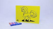 Sand Art Kit Kids A4