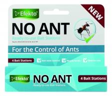 No Ant Bait Station 4 Pack Efekto