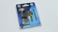 Lock Profile Cyl Knob Nickel