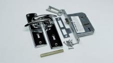 Lockset 2L 2K CP Solid