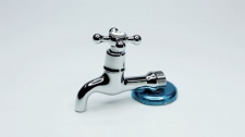 Victory Bath Tap Extended 3/4