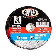 Ruwag S/Steel Cut 115x1.0mm  (BYE 5/P)
